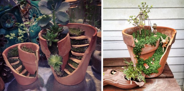 broken pots turned brilliant