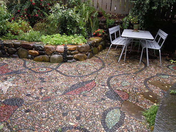 15 magical pebble paths that flow like