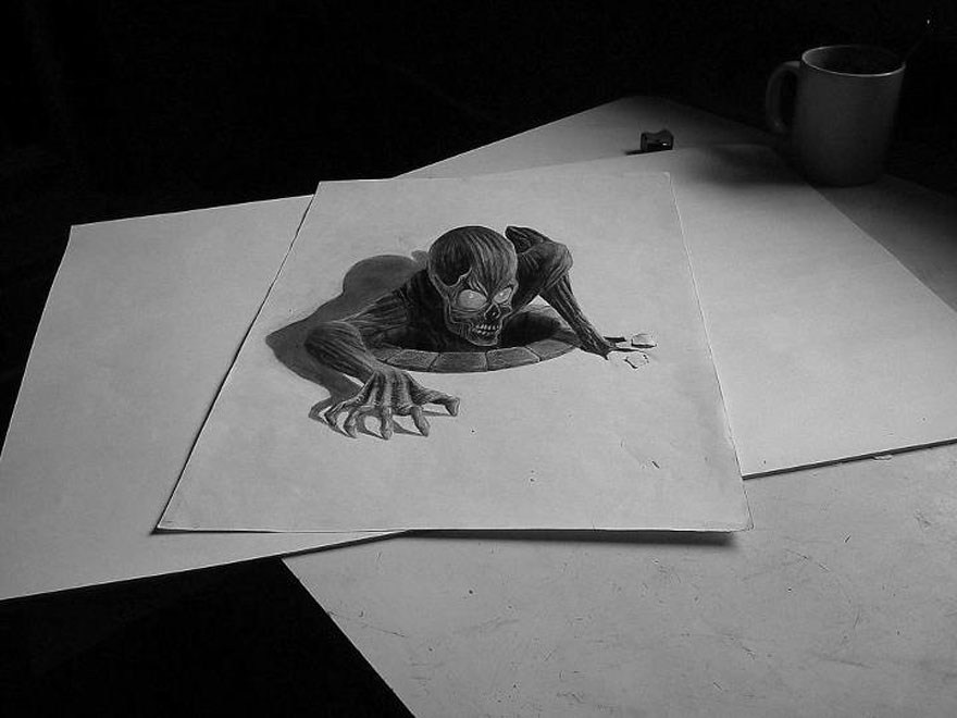 33 Of The Best 3d Pencil Drawings Artrubic
