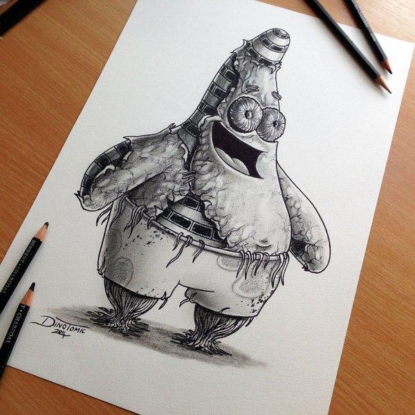 Expressive Pencil Drawings Dino Tomic Bored Panda