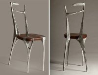 I Make Unique Furniture By Pouring Cast Aluminum Onto Wood ...