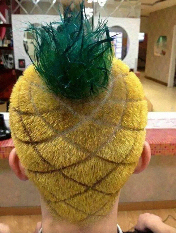Pineapple Haircut