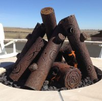 12+ Beautiful Metal Firepits That Are Works Of Art | Bored ...