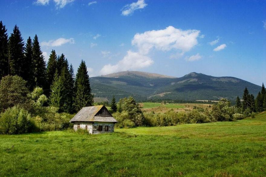 Šumiac - Červená Skala, Slovakia