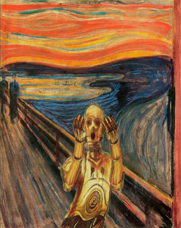 Famous Paintings Reimagined With Star Wars Elements