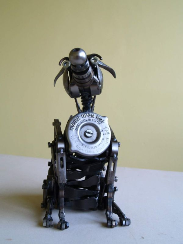 Recycle Motorbike Parts Steampunk Animal