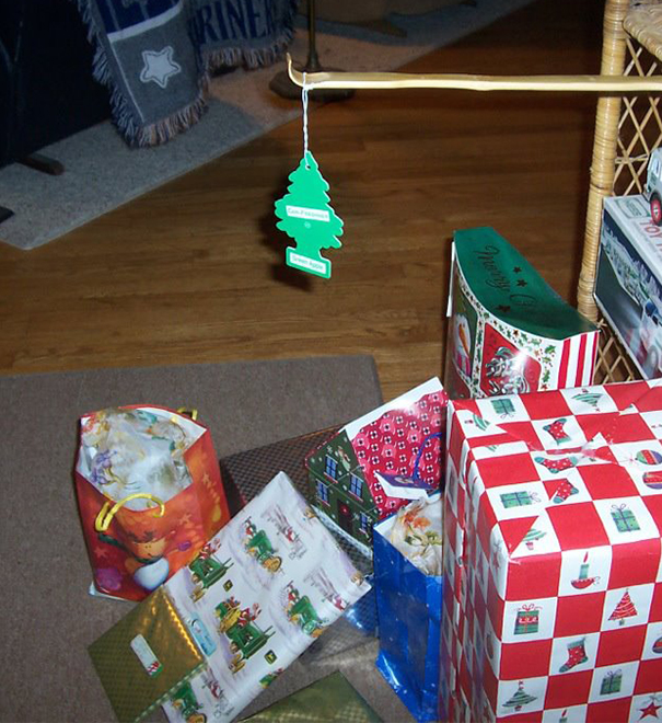 "The ""I'm Broke Or I'm Lazy"" Christmas Tree"