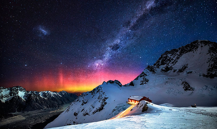 Galactic Dance (Mount Cook, New Zealand)