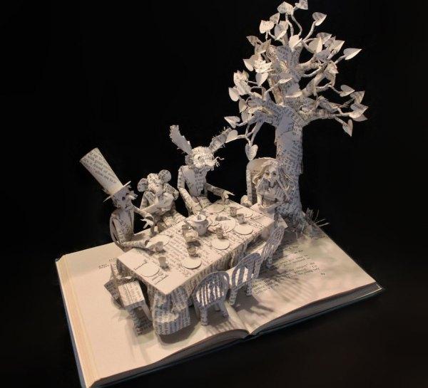 Paper Book Sculpture Art