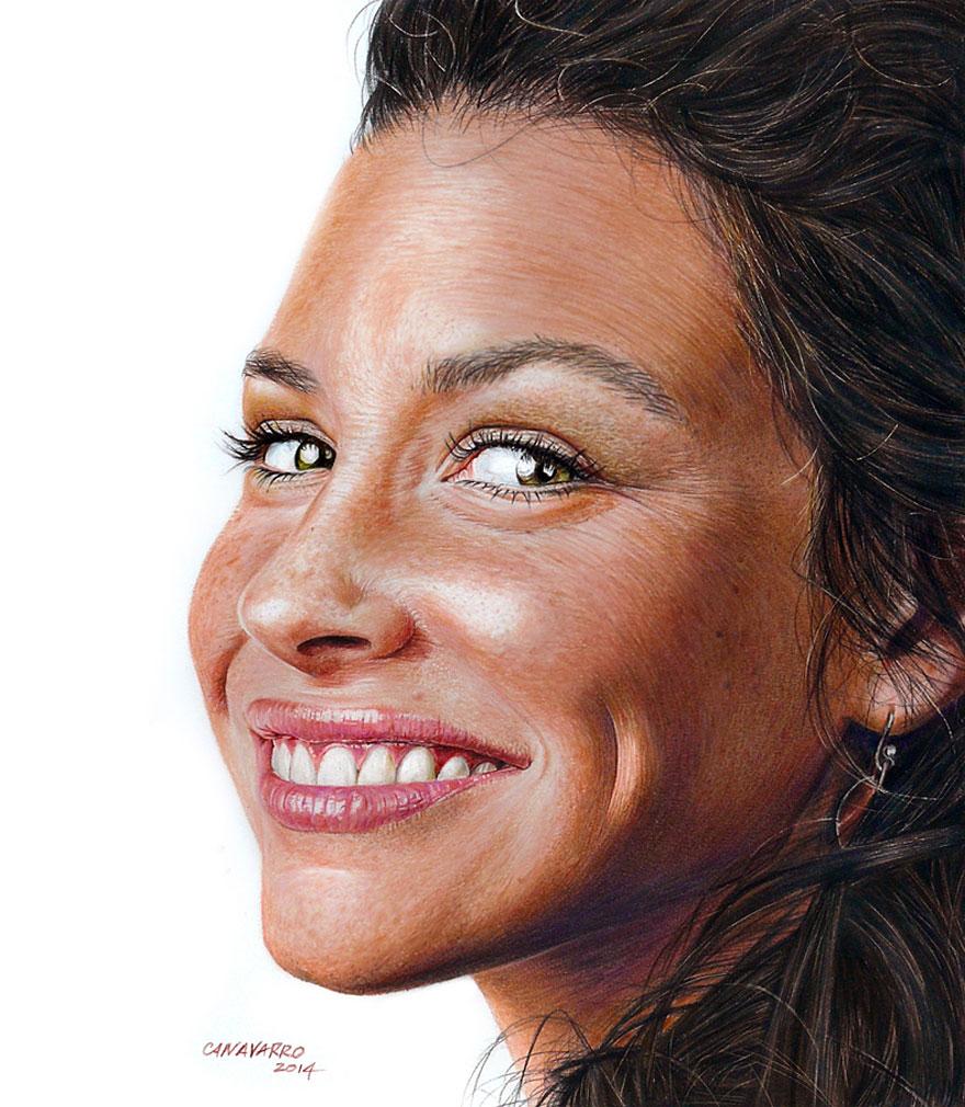 realistic-portraits-colored-pencil-drawings-nestor-canavarro-1