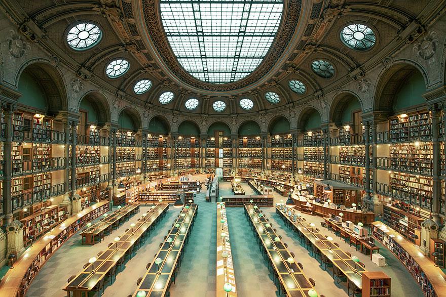 Bibliothèque Nationale de France, Parigi, Francia