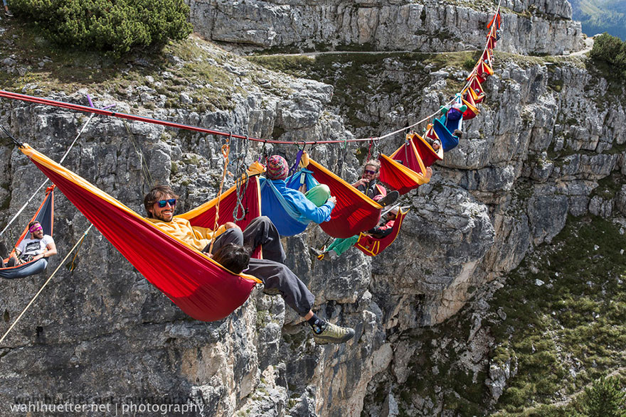 The International Highline Meeting Festival, Monte Piana (Italy)