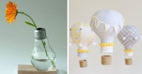 19+ Awesome DIY Ideas For Recycling Old Light Bulbs ...