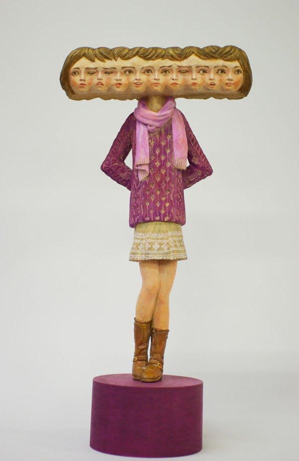 Japanese Wood Art Sculptures