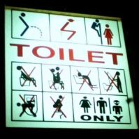 20 Funny & Unique Bathroom Signs From Around The World ...
