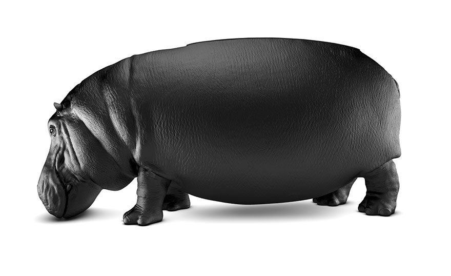 New Hippopotamus Chair By Maximo Riera Is The Size Of A