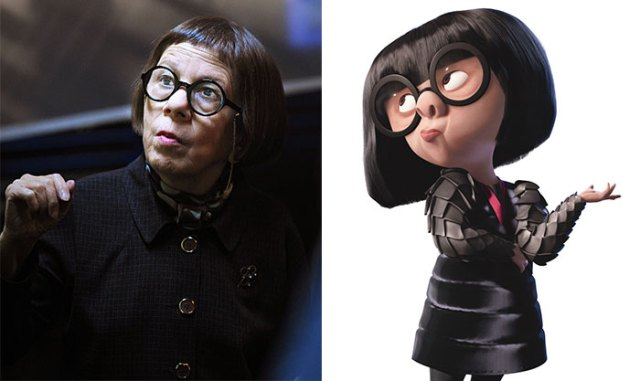 Linda Hunt Looks Like Edna From The Incredibles