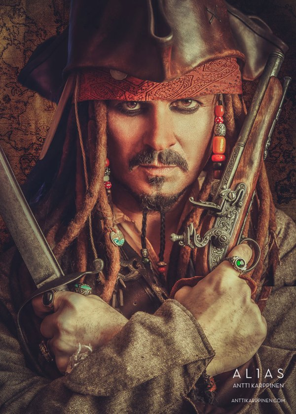 Captain Jack Sparrow Cosplay