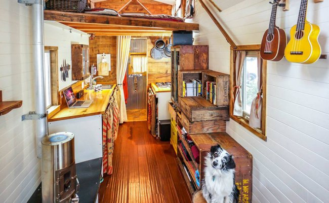 We Quit Our Jobs Built A Tiny House On Wheels And Hit The