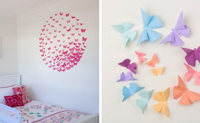 I Make 3d Paper Wall Decorations To Fix Boring Flat Walls