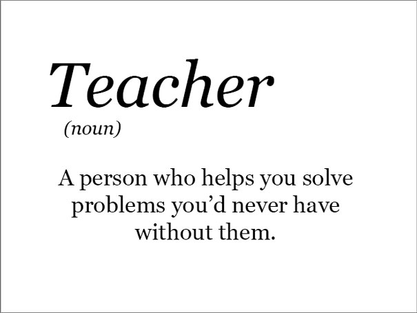 The Real Meaning Of Teaches