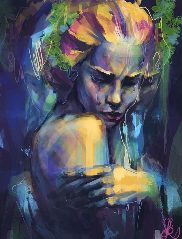 Express Feelings Figurative Art And Colors