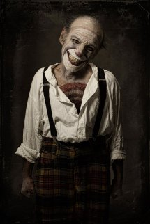 Spine-chilling Clown Portraits Eolo Perfido Give