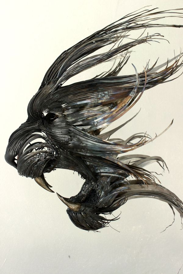 Metal Art Sculpture Animals