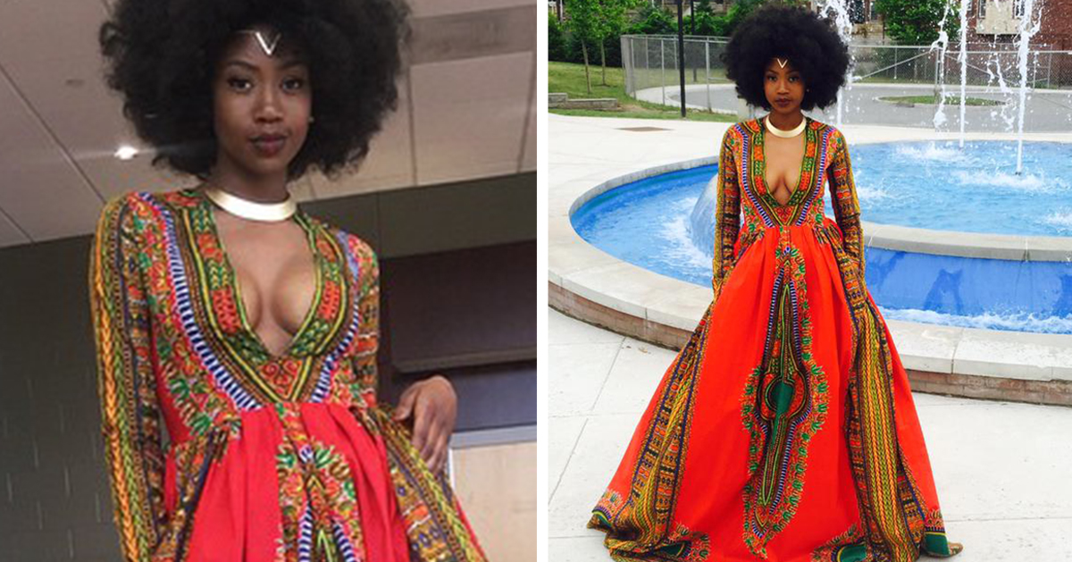 Bullied Teen Designs Her Own Prom Dress To Fight Bullying
