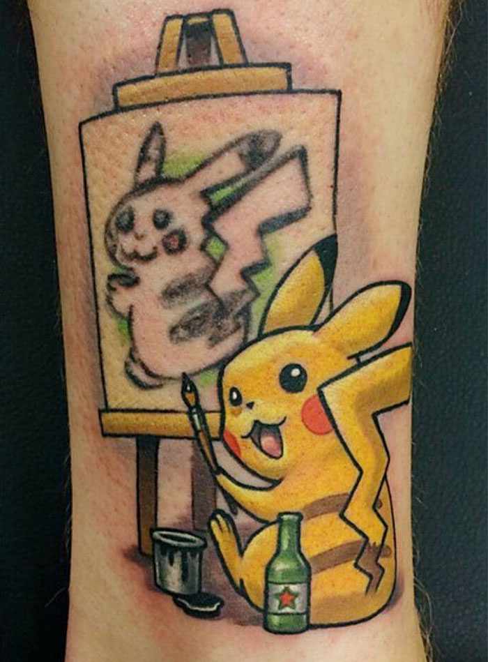 20 Pikachu Tattoo ideas   pikachu tattoo, pokemon tattoo