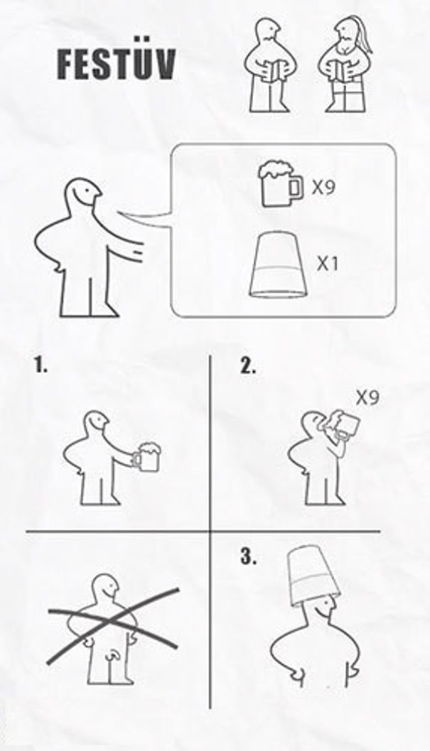 Real Life Situations Done Via Ikea Flat Pack Instructions