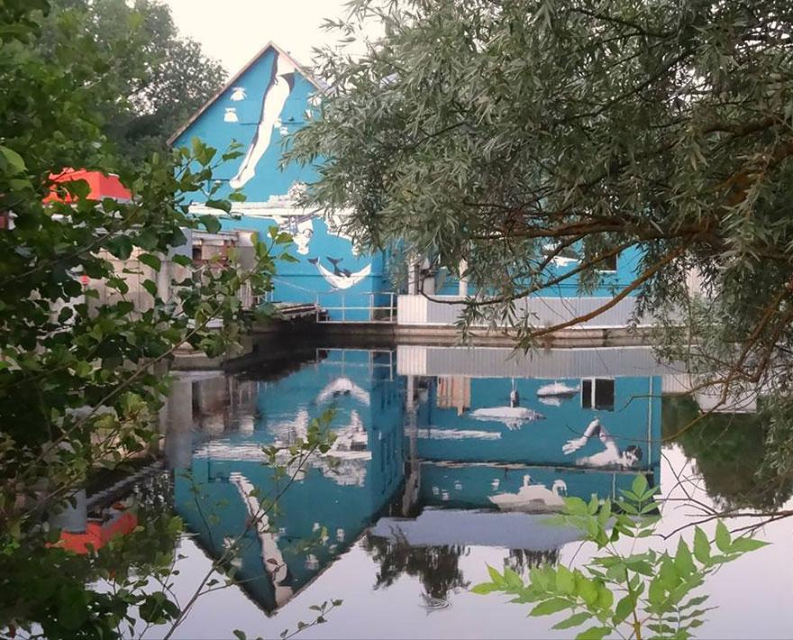 Ray Bartkus Water Mural