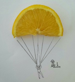 drawing drawings objects everyday draw simple interactive using innovative illustrations object creative parachute boredpanda projects fruit challenge photoshop niemann christoph