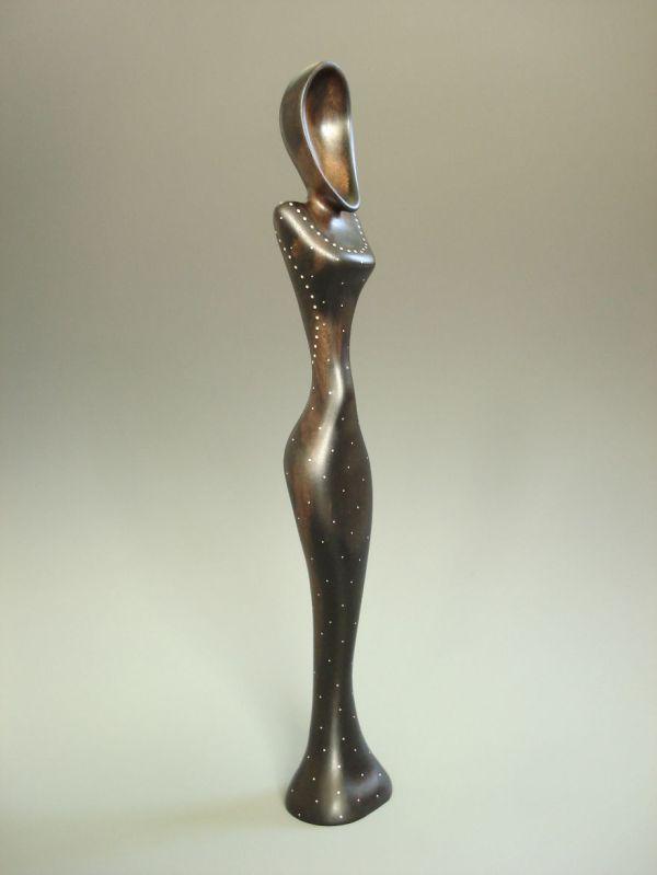 Wooden Spoon Sculpture
