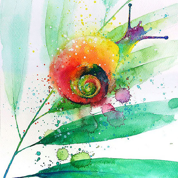 colorful-animal-watercolor-paintings-tilen-ti-6