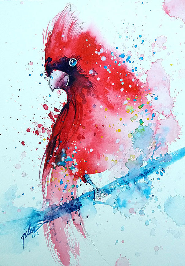 colorful-animal-watercolor-paintings-tilen-ti-8