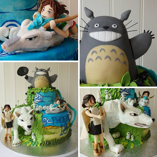 Studio Ghibli Birthday Cake