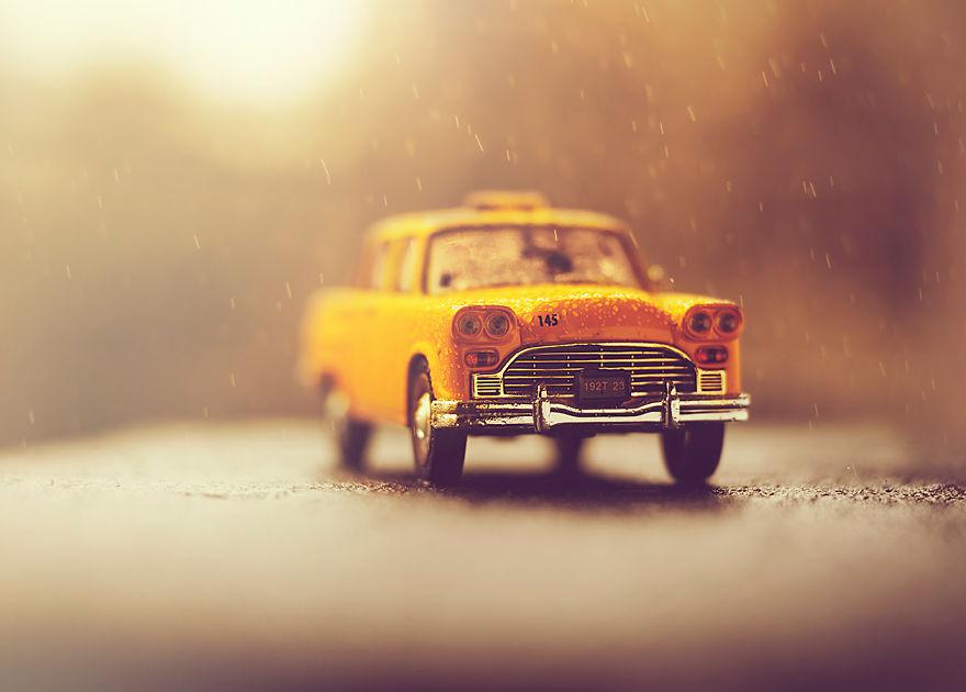 Autumn Falling Leaves Wallpaper I Create Atmospheric Miniature Car Scenes That Remind Me