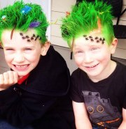 of crazy hair day