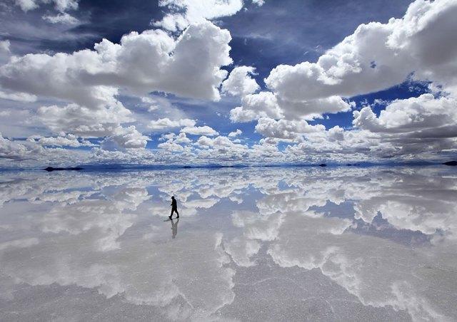 Dünyanın En Büyük Tuz Gölü