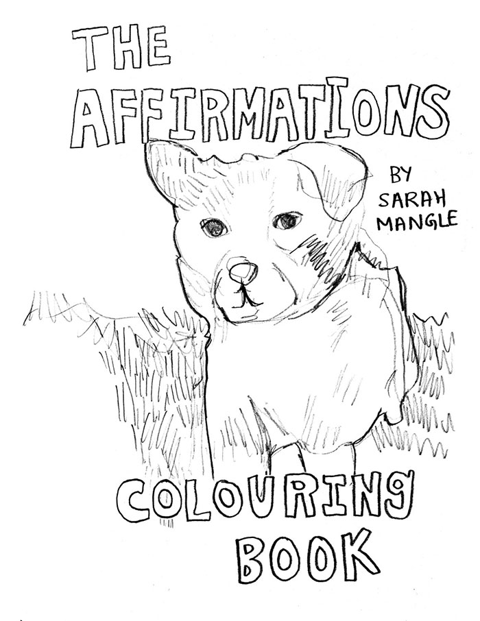 This Coloring Book With Positive Messages Is What You Need