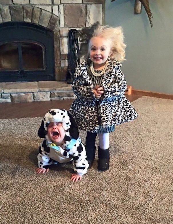 Cruella And Dalmatian