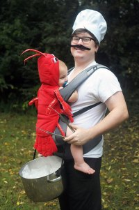 Chef And Lobster Costume | Bored Panda