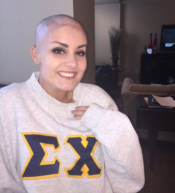 Teen Shaved Head Surprise Date Battling Cancer