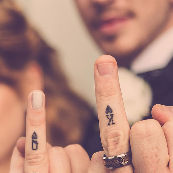 53 Brave Couples Who Chose Matching Wedding Tattoos