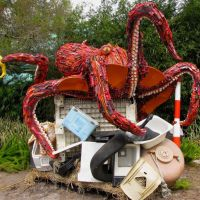 13 Giant Sculptures Made Entirely Of Beach Waste To Make You Reconsider Plastic Use