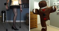 Every Halloween, This One-Legged Guy Makes A Halloween ...