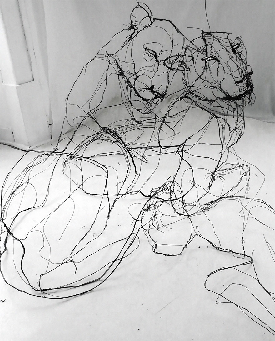 sketchbook-3d-wire-animal-sculpture-david-oliveira-16