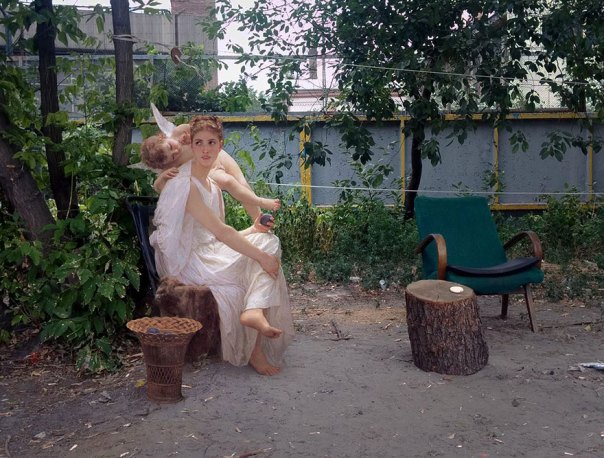 -city-pintura clásica-moderna-vida-dioses diarias-alexey-Kondakov-1
