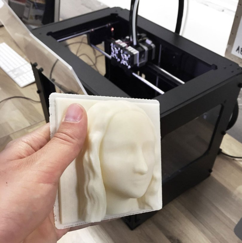 "3D-Printed Classical Paintings Will Let The Blind ""See"